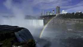 The Niagara falls from the American side Royalty Free Stock Photography