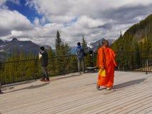 Lake Louise Ski Resort Gondola Summer, Banff NP royalty free stock images