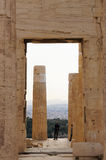 Tourists visit Acropolis in the evening,Athens,Greece. Stock Image