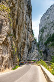 Tourists visit the Bicaz Canyon Royalty Free Stock Images