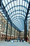 Tourists visit Hay's Galleria  in London, UK Stock Images