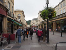 Tourists visiting Bath Stock Photo
