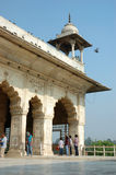Tourists visiting Diwan-i-Khas,monument in famous Red Fort landmark, India Stock Images