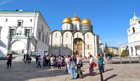 Tourists visiting the Kremlin Stock Photos