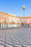 Tourists walking in the Place Massena, Nice, France Stock Photo