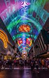 Fremont Street Experience royalty free stock photo