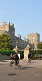 Tourists at Windsor Castle Royalty Free Stock Photos