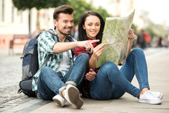 Tourists Royalty Free Stock Photo