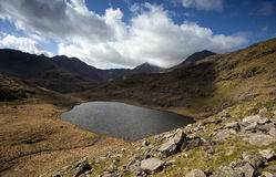 Touristy walk in snowdonia Royalty Free Stock Photo