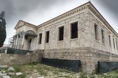 Tourkiko Scholio old town Rhodes Royalty Free Stock Photo