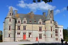 Tourlaville城堡  库存照片