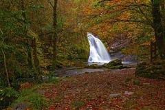 Tourmakeady Waterfall Royalty Free Stock Photography