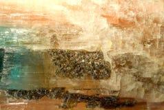 Tourmalin kryształ zdjęcie stock