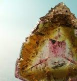 Tourmalin mineral Imagem de Stock Royalty Free