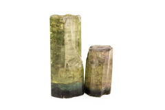 Tourmaline Crystals Stock Photo