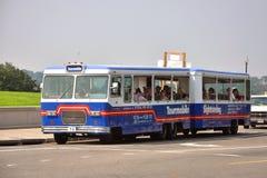Tourmobile Tour bus in Washington DC. USA Stock Image