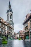 The belfry of Tournai stock photos