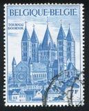 Tournai-Kathedrale Stockfotos