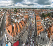 Tournai Market in Belgium. Royalty Free Stock Photos