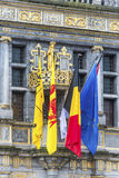 Tournai town hall in Belgium. Stock Photos