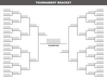 Tournament Bracket Royalty Free Stock Images