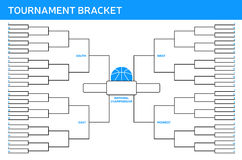 Tournament Bracket. Background concept with space for copy royalty free illustration