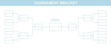 Tournament Bracket. Royalty Free Stock Image