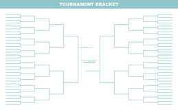 Tournament Bracket Royalty Free Stock Photography