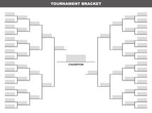 Tournament Bracket Royalty Free Stock Images