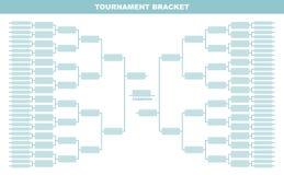 Tournament Bracket. Royalty Free Stock Photo