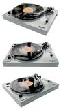 Tourne-disque complet images stock