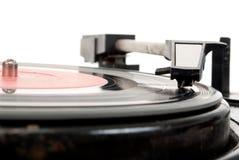 Tourne-disque de cru Images libres de droits