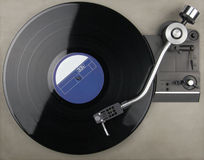 Tourne-disque de vintage Photo libre de droits