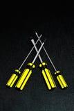 Tournevis quatre Images libres de droits