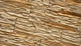 Tournez de la pierre décorative Relevez le granit à la maison Mur de pierre banque de vidéos