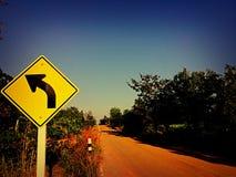 Tournez juste à gauche Photos libres de droits