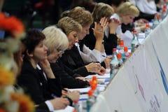 Tournoi d'International de juges Photos libres de droits