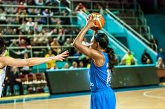 Tournoi de basket-ball de filles Image libre de droits