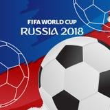 Tournoi 2018 de groupe du football de coupe du monde ENV 10 illustration de vecteur