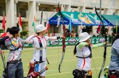 Tournoi 2015 de rang de Tasse-monde de l'Asie Images libres de droits