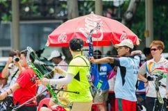 Tournoi 2015 de rang de Tasse-monde de l'Asie Photo stock