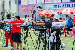Tournoi 2015 de rang de Tasse-monde de l'Asie Photographie stock libre de droits