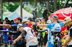 Tournoi 2015 de rang de Tasse-monde de l'Asie Photos stock