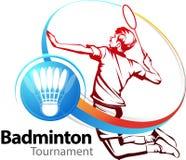 Tournoi de sport de badminton Photos stock