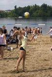 Tournoi de volleyball de H.O.P.E à Ottawa Photo libre de droits
