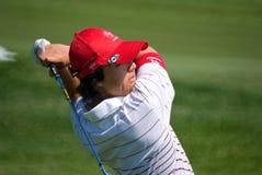 Tournoi royal de golf de trophée, Asie contre l'Europe 2010 Photo libre de droits