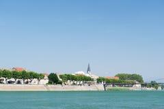 Tournon в Франции стоковое фото