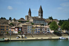 Tournus, Burgundy Royalty Free Stock Photos