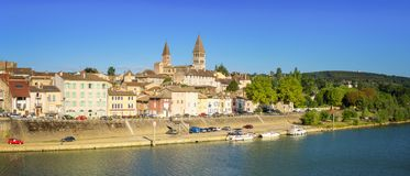 Tournus - Francia fotografía de archivo libre de regalías