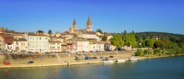 Tournus - Frankrike royaltyfri fotografi